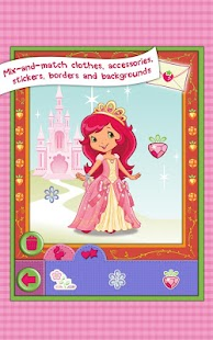 Strawberry Shortcake Dress Up- screenshot thumbnail