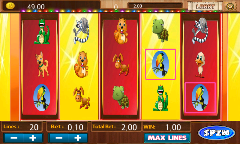 Genetic Bonus Casino Slot - screenshot