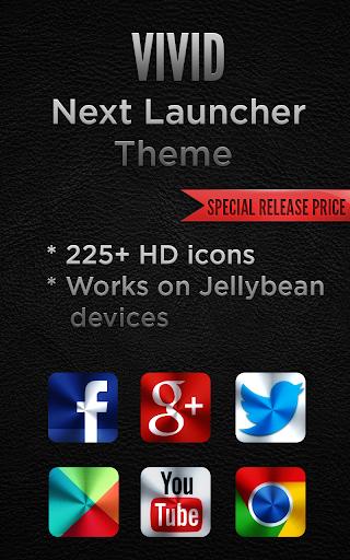 Next Launcher VIVID Theme