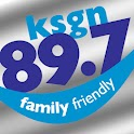 Family Friendly 89.7 KSGN logo