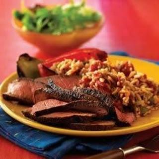 Cajun Beef Pepper Steak.