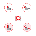 iSofa moving armchair and sofa icon