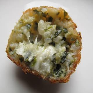 Spinach Arancini.