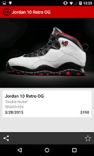 J23 - Jordan Release Dates - screenshot thumbnail