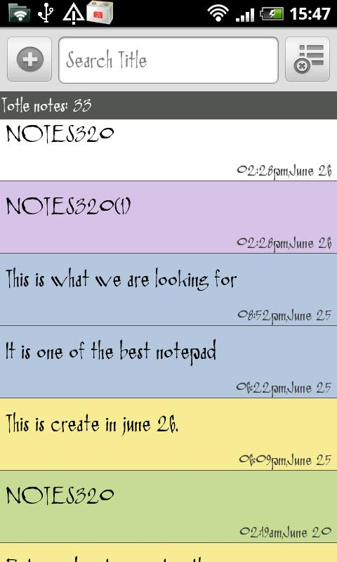 SE Notepad Pro- screenshot