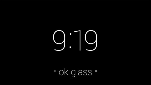home screen google glass help