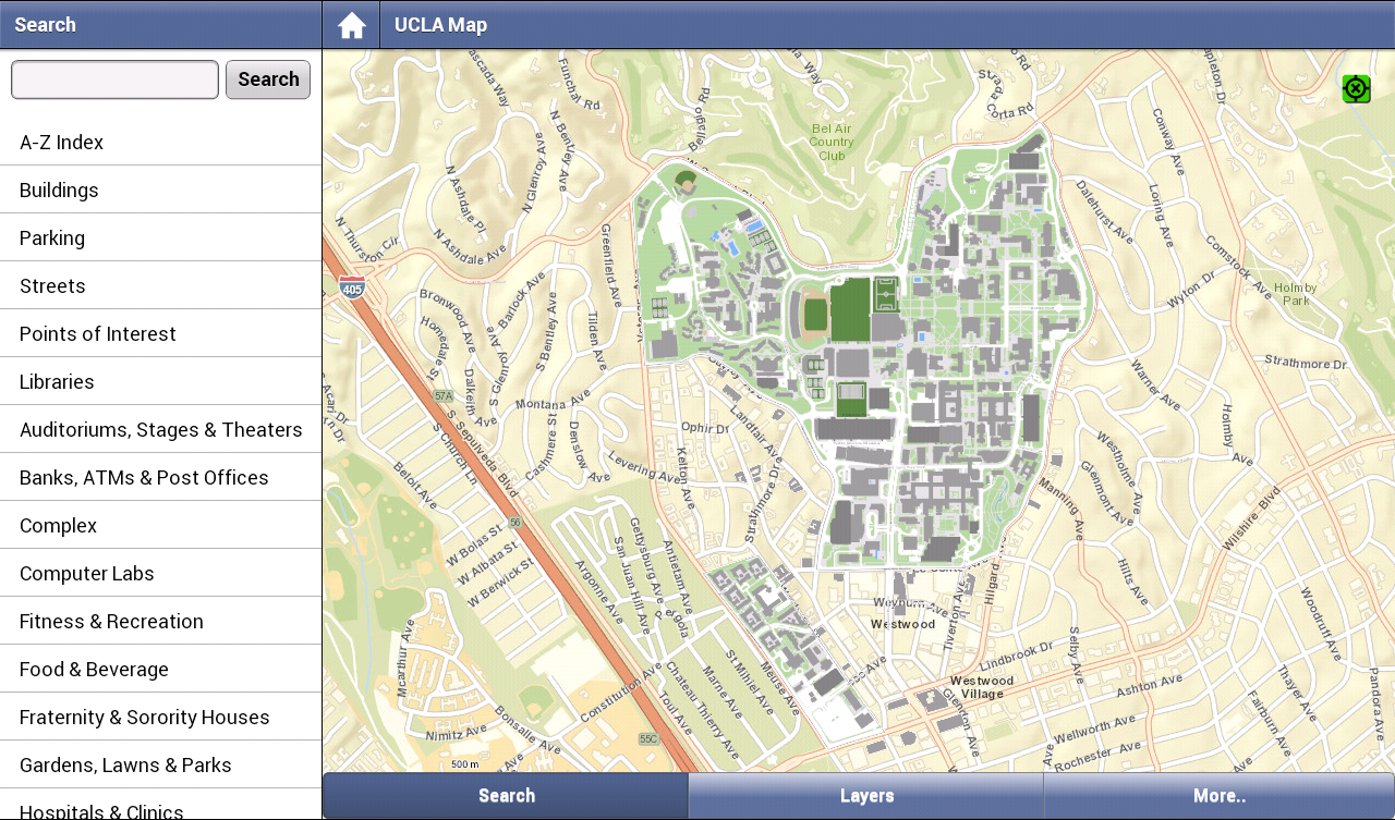 ucla campus map screenshot. ucla campus map  android apps on google play