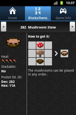 CleverBook - A Minecraft Guide - screenshot
