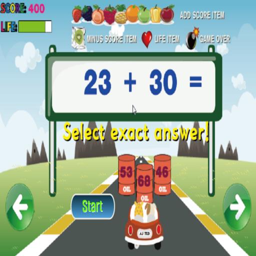 教育必備App|Racing Addition LOGO-綠色工廠好玩App