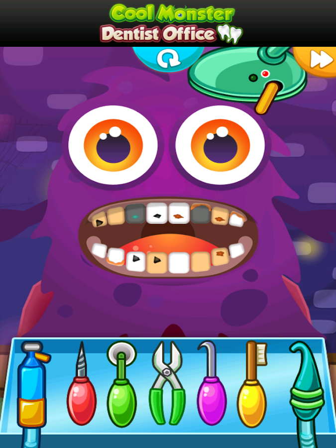 Monster Dentist Office - screenshot