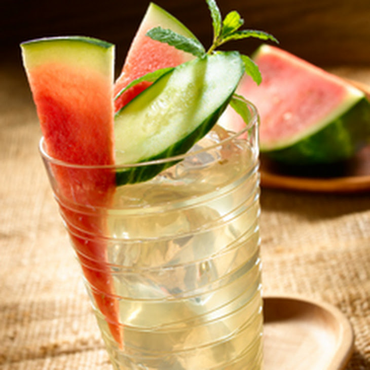 Watermelon-Cucumber Refresher Recipe