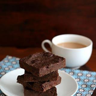 Mocha Chocolate Chunk Chia Seed Brownies