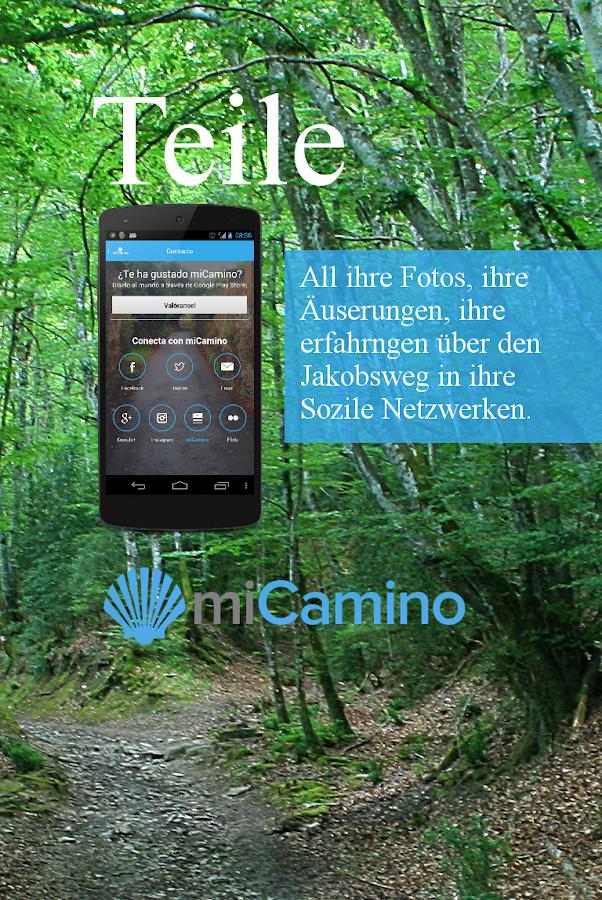 mi Camino de Santiago Mobil - screenshot