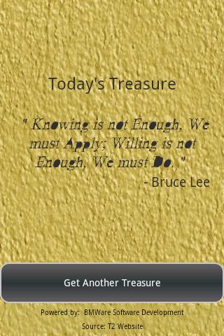 True Treasures