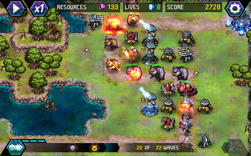 Tower Defense: Infinite War 1.2.1 screenshots 14