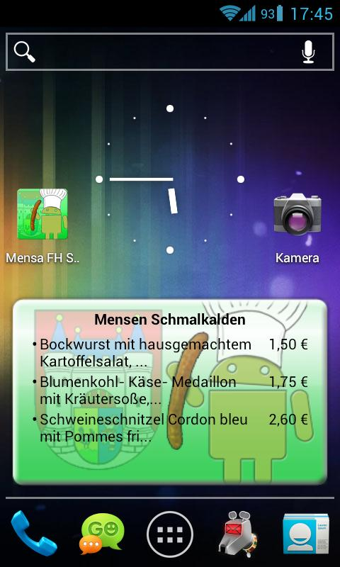 Mensa Schmalkalden- screenshot
