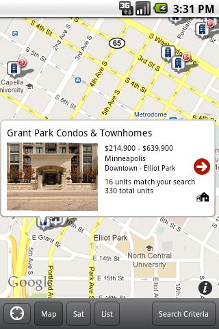 MinnesotaLoftsAndCondos.com - screenshot