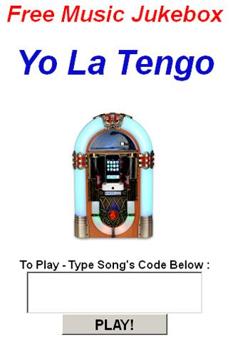 Yo La Tengo Jukebox - screenshot