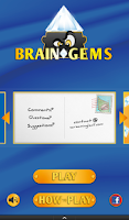 Screenshot of Brain Gems Free: Fun Word game