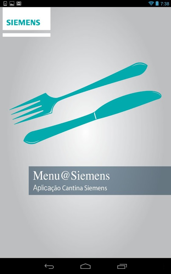 Menu@Siemens- screenshot