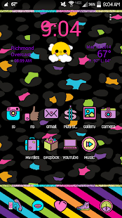 Fancy Go Launcher Theme