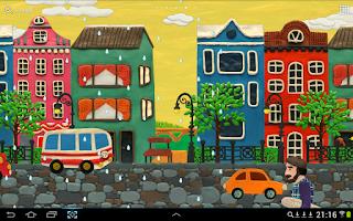 Screenshot of KM Town Live wallpaper