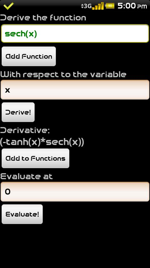 Calculus Tools Beta Channel- screenshot