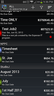 Expense Manager BluJ Business - screenshot thumbnail