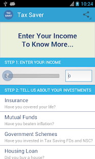 Tax Saver for India - screenshot thumbnail