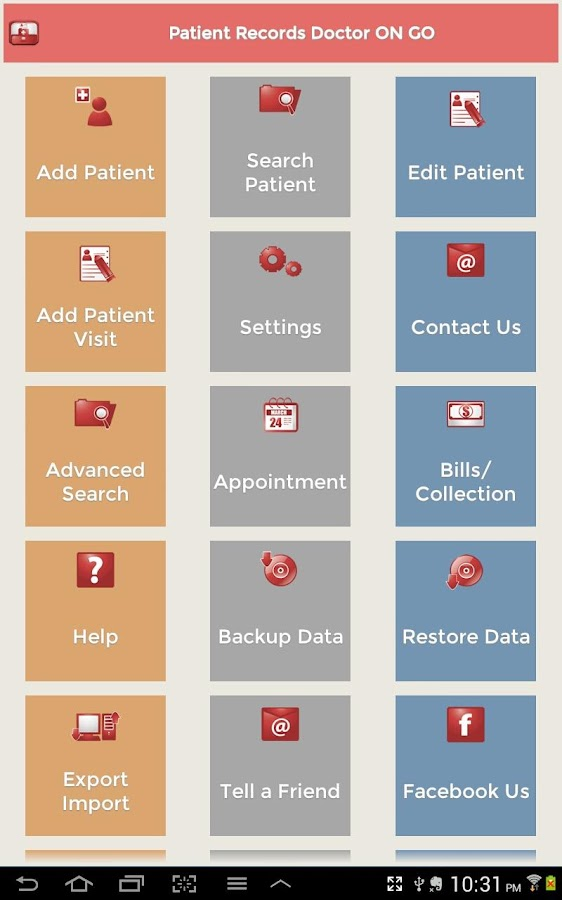 Patient Records Doctor ON GO - screenshot