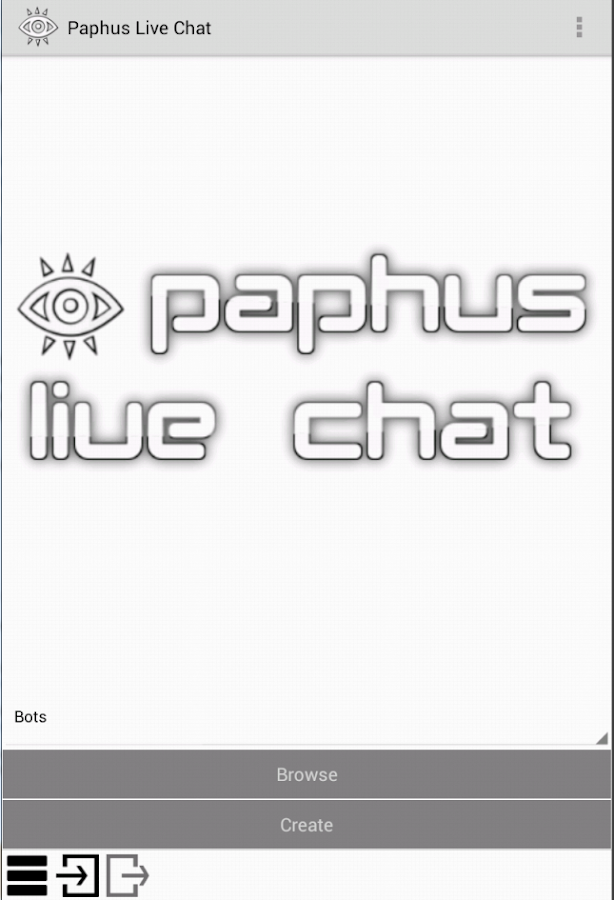 Paphus Live Chat- screenshot