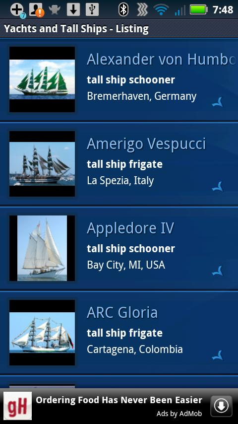 Yachts and Tall Ships- screenshot