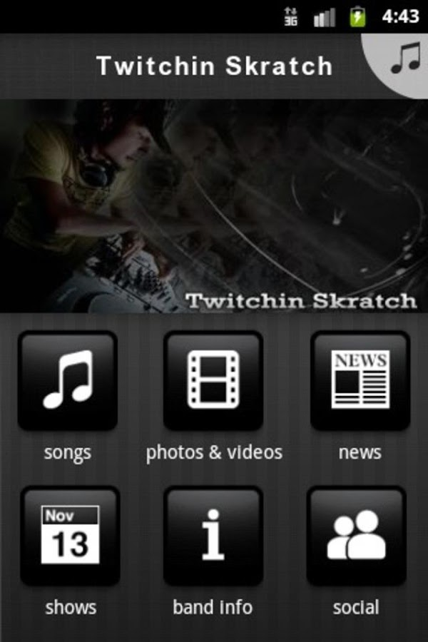 Twitchin Skratch - screenshot