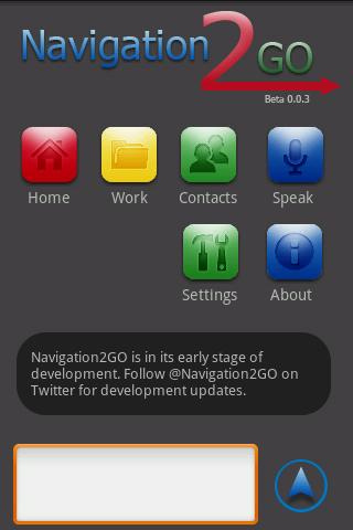 Navigation2GO - screenshot