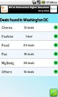Screenshot of all Deals