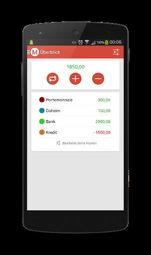 MoneyWatcher - Geld Manager