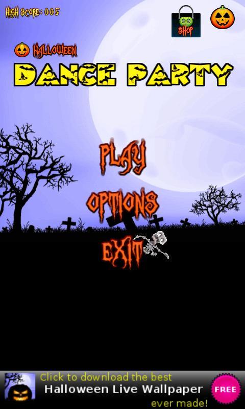 Halloween Dance Party- screenshot