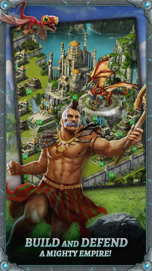 Dragons of Atlantis: Heirs- screenshot