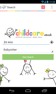 Childcare.co.uk- screenshot thumbnail