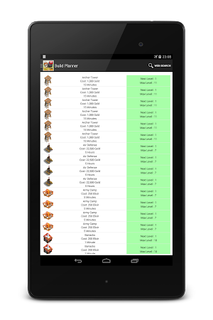 Planner for Clash of Clans 1.0.8 screenshot 97658