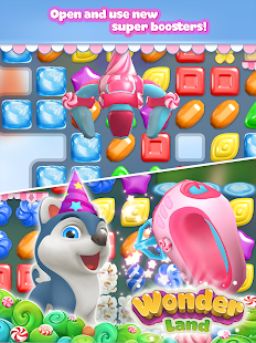 Wonderland: match-3 game- screenshot thumbnail
