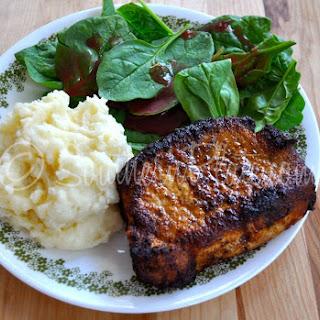 Blackened Pork Chops.