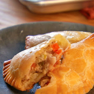 Savory Chicken Pocket Pies
