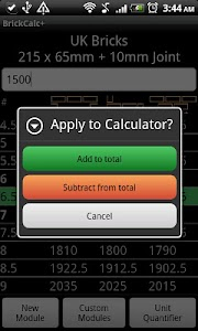Brick Calculator + screenshot 2