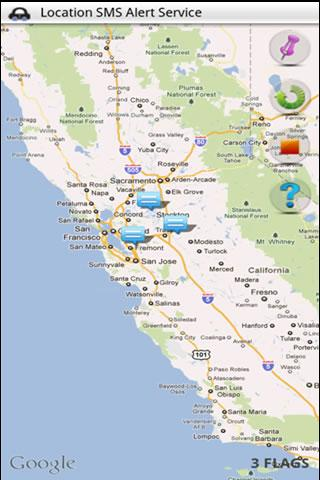 Imcoming GPS Tracker - screenshot
