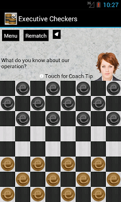 Executive Checkers - screenshot