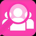 หาเพื่อน+ หญิง ชาย เกย์ เลส icon