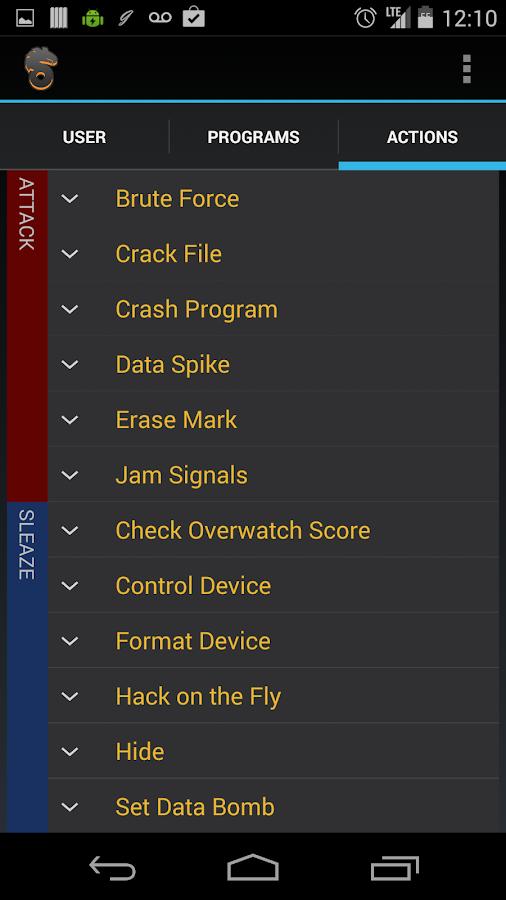 Shadowrun Cyberdeck Aid - screenshot