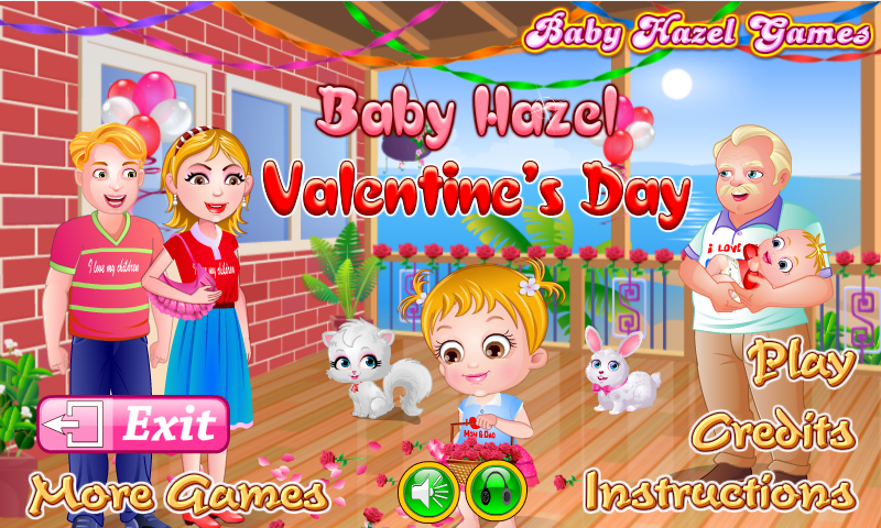 Baby Hazel Valentine Day- screenshot