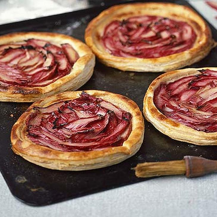 Creamy Rhubarb Tarts Recipe